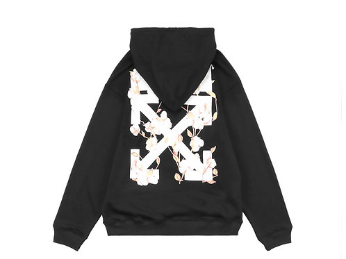 Off-White hoodie flower