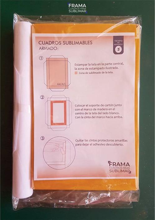 Cuadro para sublimar A4   FRAMA cuadros para sublimar - producto ...