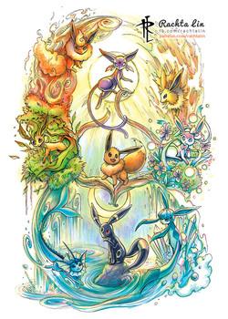 Sample - (The Pokemon Company) Eeveelution