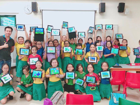Speedpainting Marymount Convent Primary 20th & 22nd March 2018