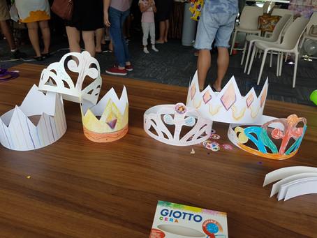 Birthday Crown Making