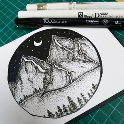 LandscapeStippling