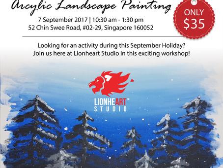 Acrylic Landscape Painting Workshop