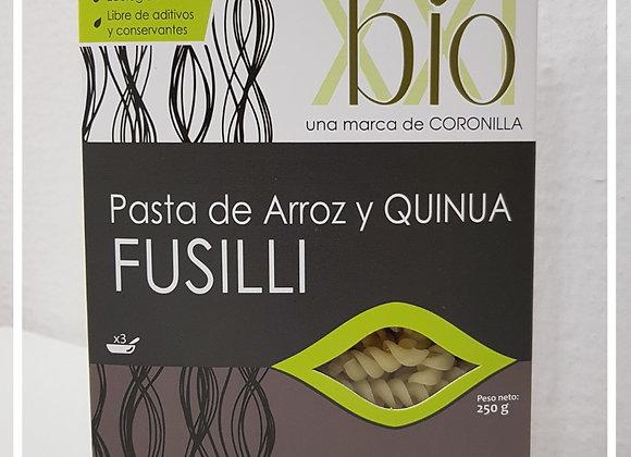 Pasta Andina Fusilli de arroz y quinoa
