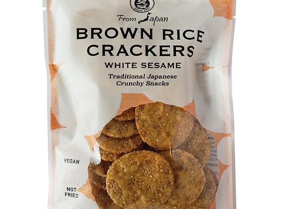 Galletas de arroz sesamo blanco