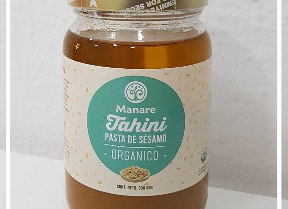 Mantequilla de sésamo organica (tahini)