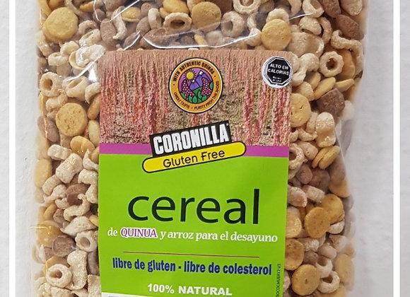 Cereal de quinoa y arroz para el desayuno