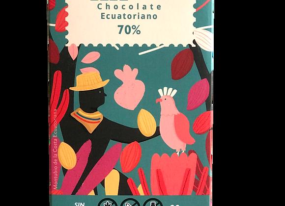 Barra de Chocolate 70% cacao