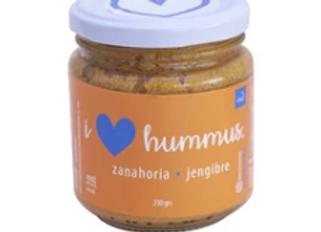 Hummus Zanahoria - Jengibre