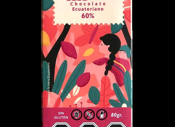 Barra de Chocolate 60% cacao