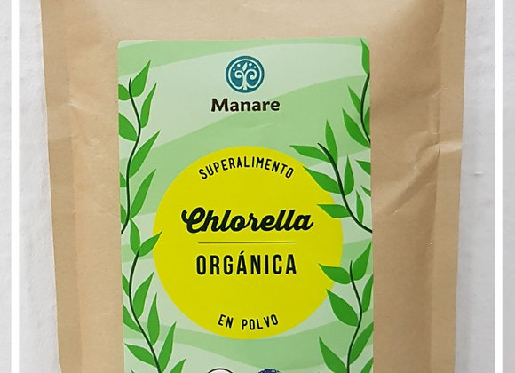 Chlorella orgánica en polvo