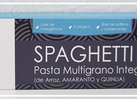 Pasta andina spaguetti Multigrano