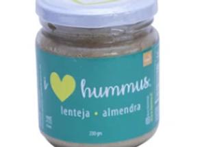 Hummus Lenteja - Almendra