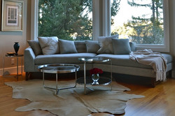 Custom Angled Sofa