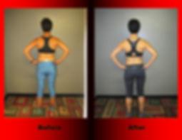 Josie Henderson's body transformation.