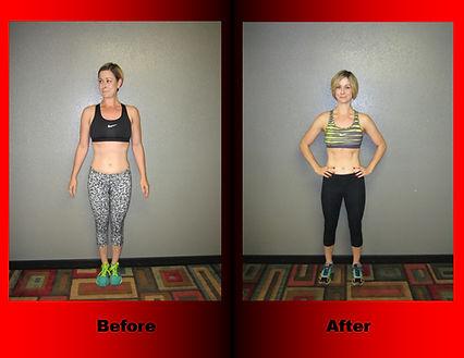 Erin Theirolf's body transformation.