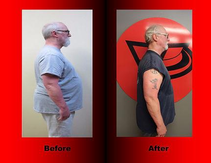 Archi Tucker's body transformation.