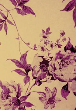 Fuschia Flower Print