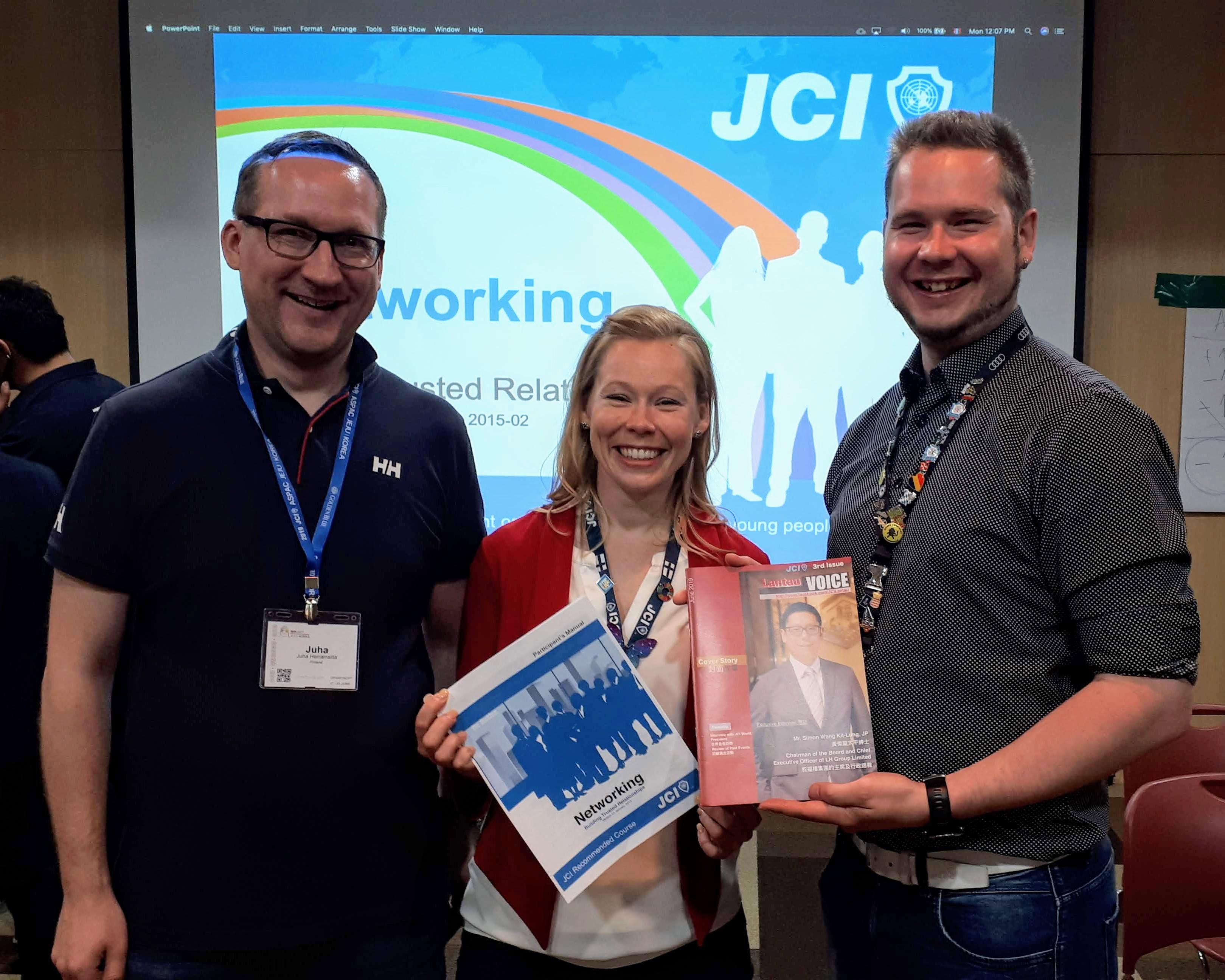 JCI Networking