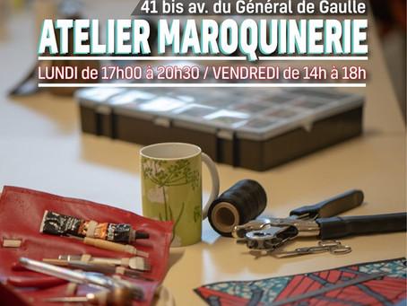 Atelier maroquinerie
