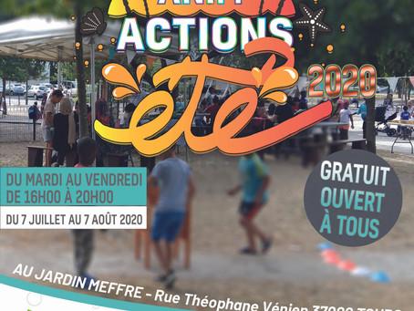 LES ANIM'ACTIONS DE L'ETE 2020