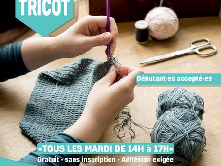 L'atelier tricot