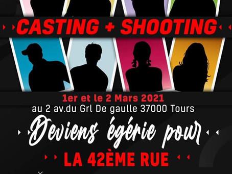 EVENEMENT CASTING et SHOOTING