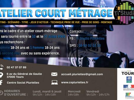 ATELIER COURT METRAGE AU TI STUDIO