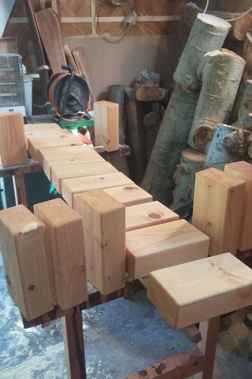 Wooden Block - Large Size   בלוק עץ גדול