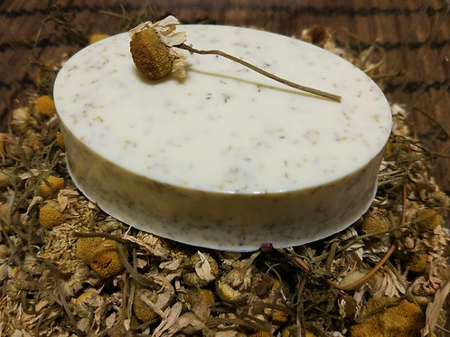 Handmade Soap - Chamomile & Patchouli ❀ סבון קמומיל פצ'ולי