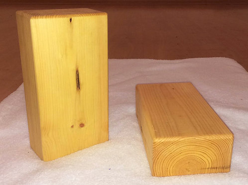 Wooden Block | בלוק עץ, מידה סטנדרטית