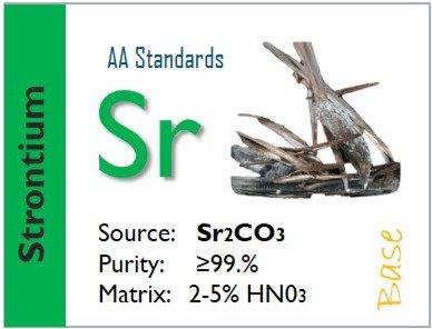 Strontium (Sr) Flame Atomic Absorption