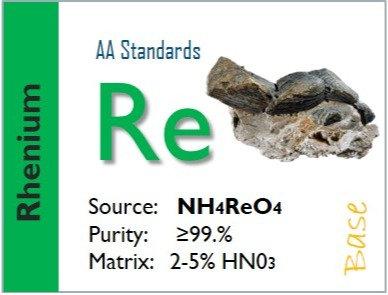 Rhenium (Re) Flame Atomic Absorption