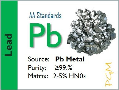 Lead (Pb) Flame Atomic Absorption