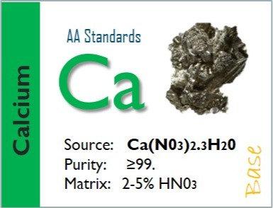 Calcium (Ca) - Flame Atomic Absorption