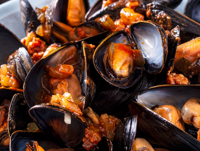 Spicy Mussel curry