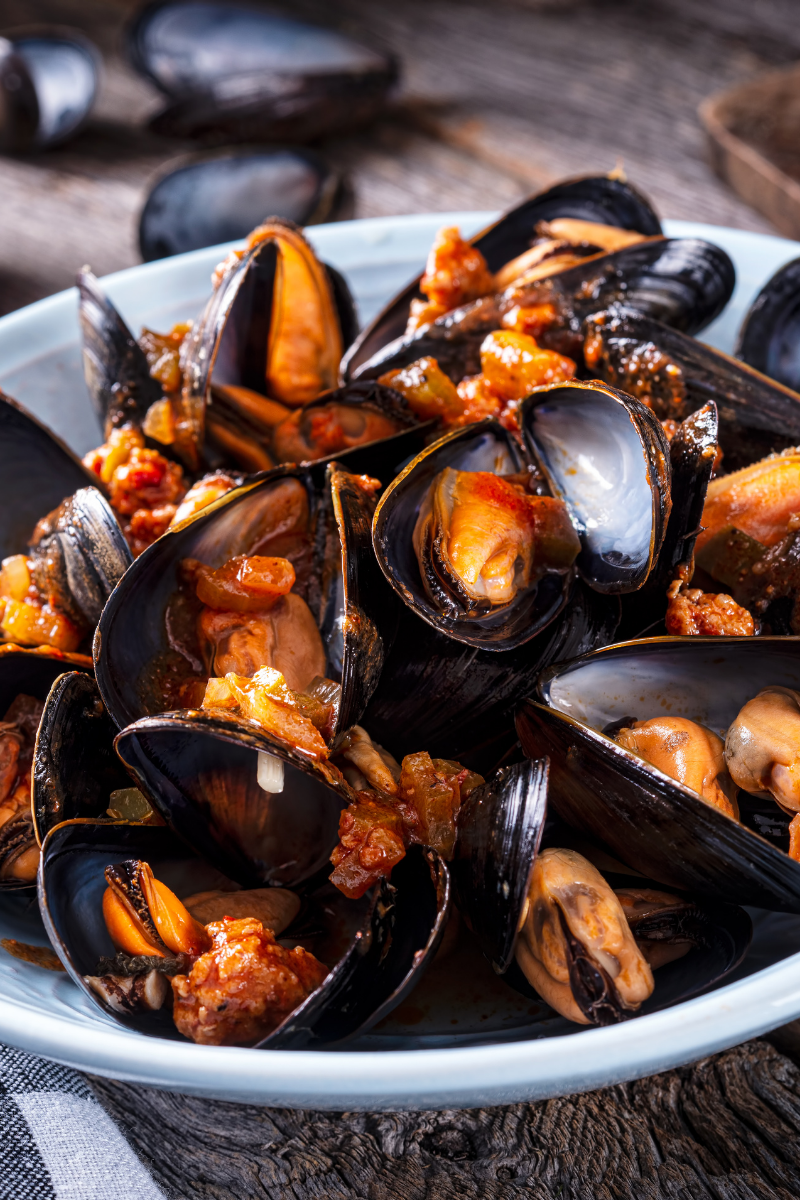 Delicious Spicy Mussel Curry