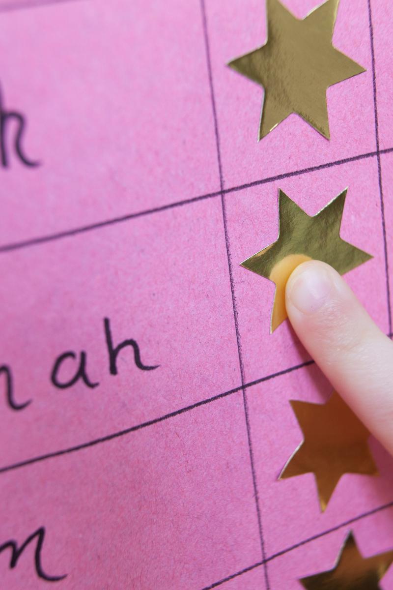 reward chart ideas