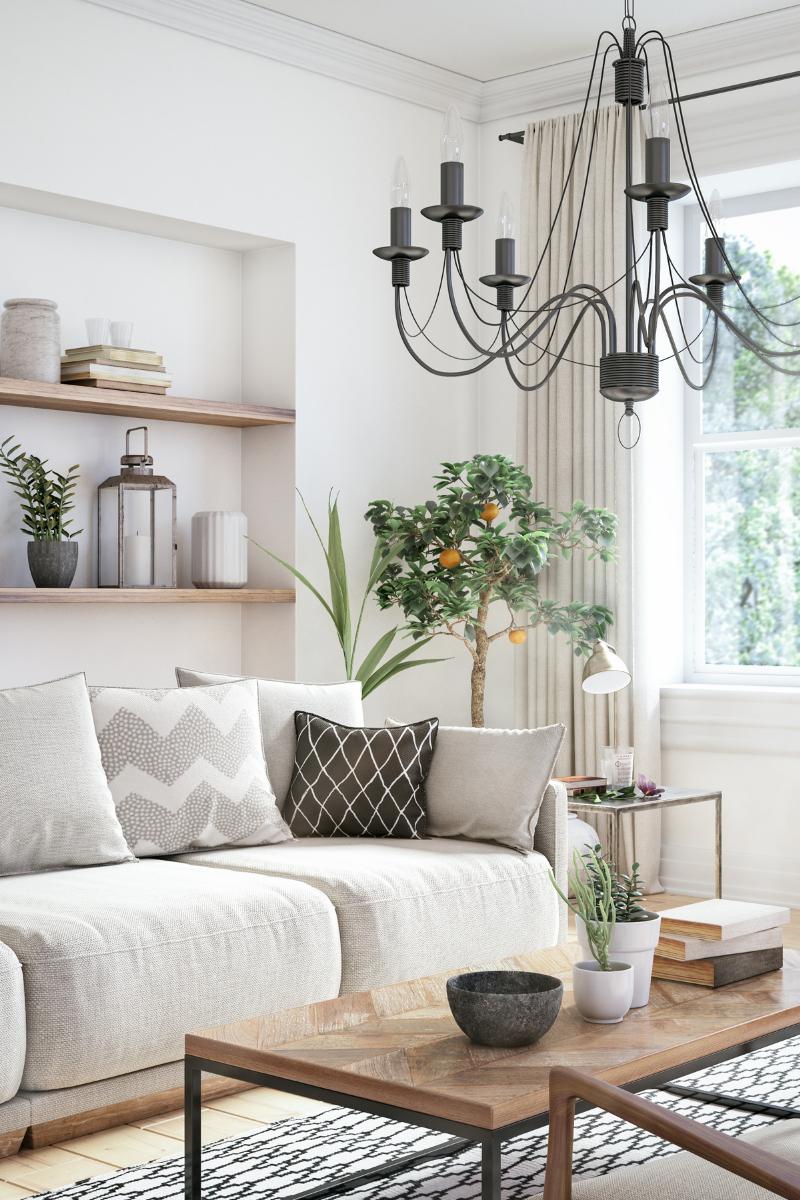 organisation living room