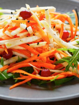 Raw Turmeric Salad