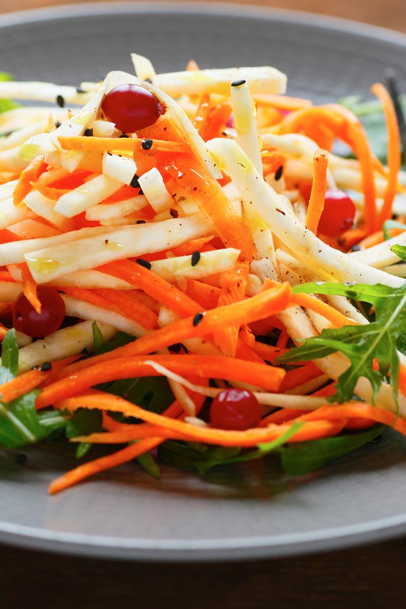 Fresh turmeric Salad