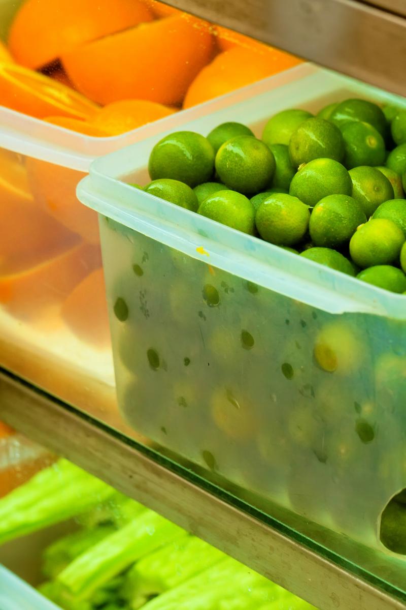 best ways to organise your fridge