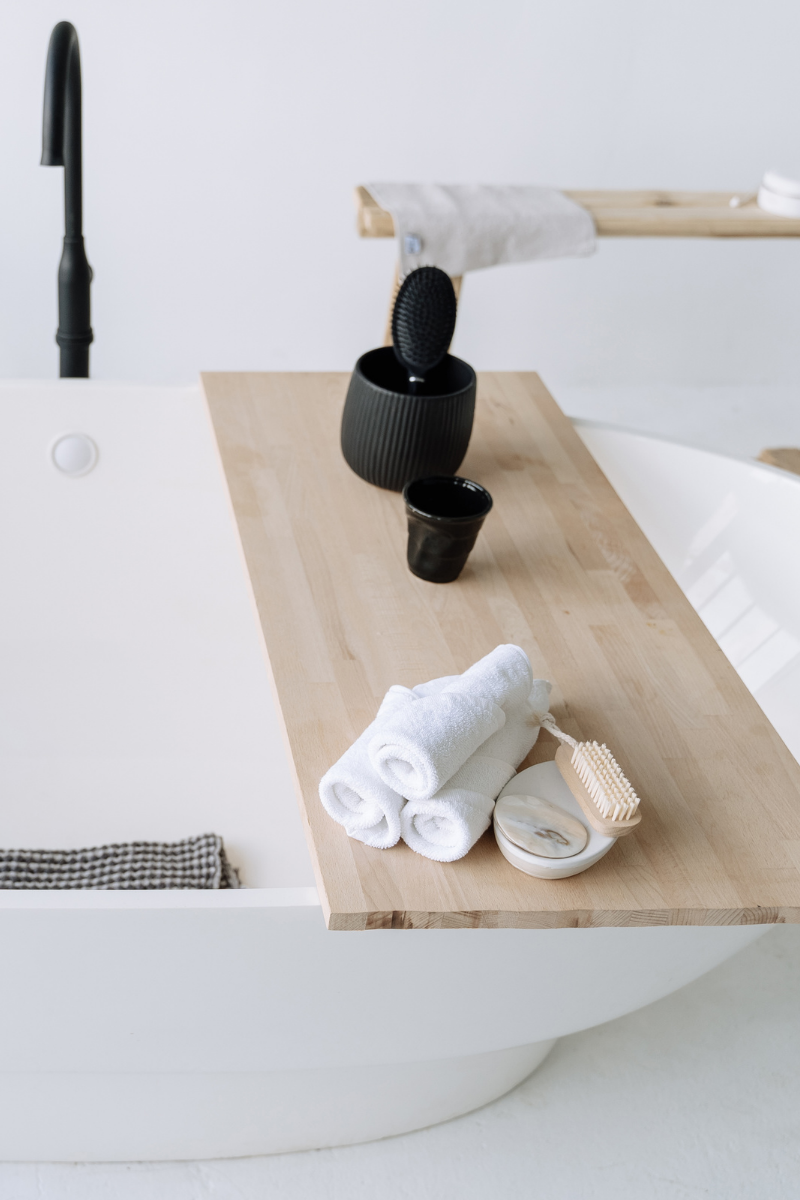 bathroom organisation ideas shelves