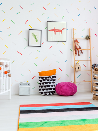 How to keep your kid's room clean and organised