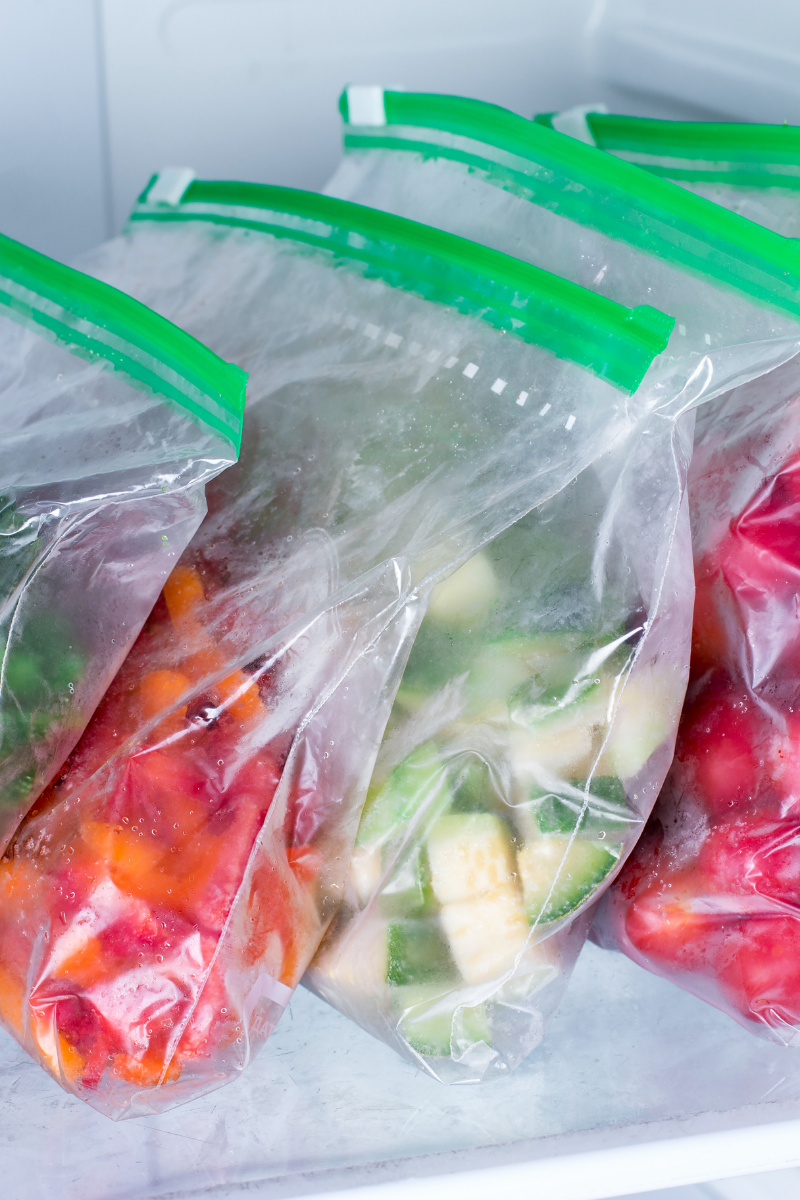 how to organise your fridge food