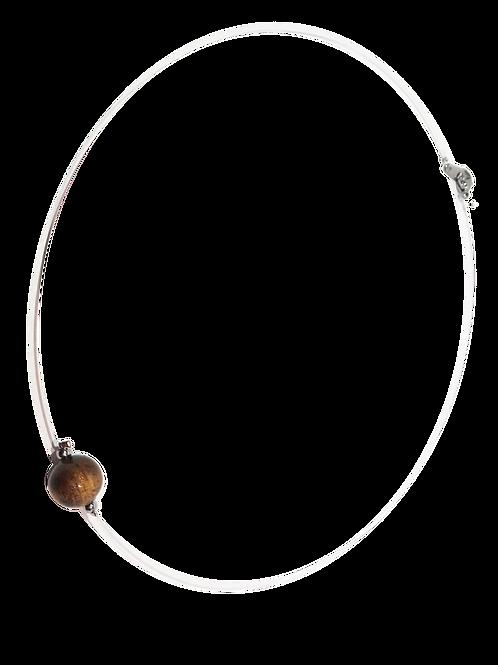Collier en perle de tamarin