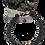 Thumbnail: Bracelet perle de lave diamètre 8 avec une perle de tamarin.