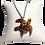 Thumbnail: Tortue en ivoire végétal, support en bois de tamarin