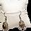 Thumbnail: Boucle d'oreille en ivoire végétal