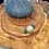 Thumbnail: Pendentif boule en roche de rivière avec lave volcanique
